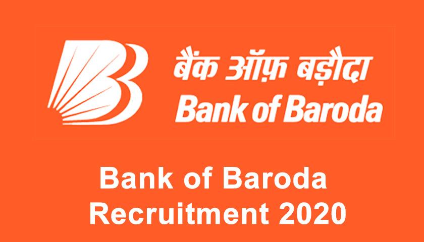 Bank of Baroda BOB Chief Risk Officer Online Application Form 2020