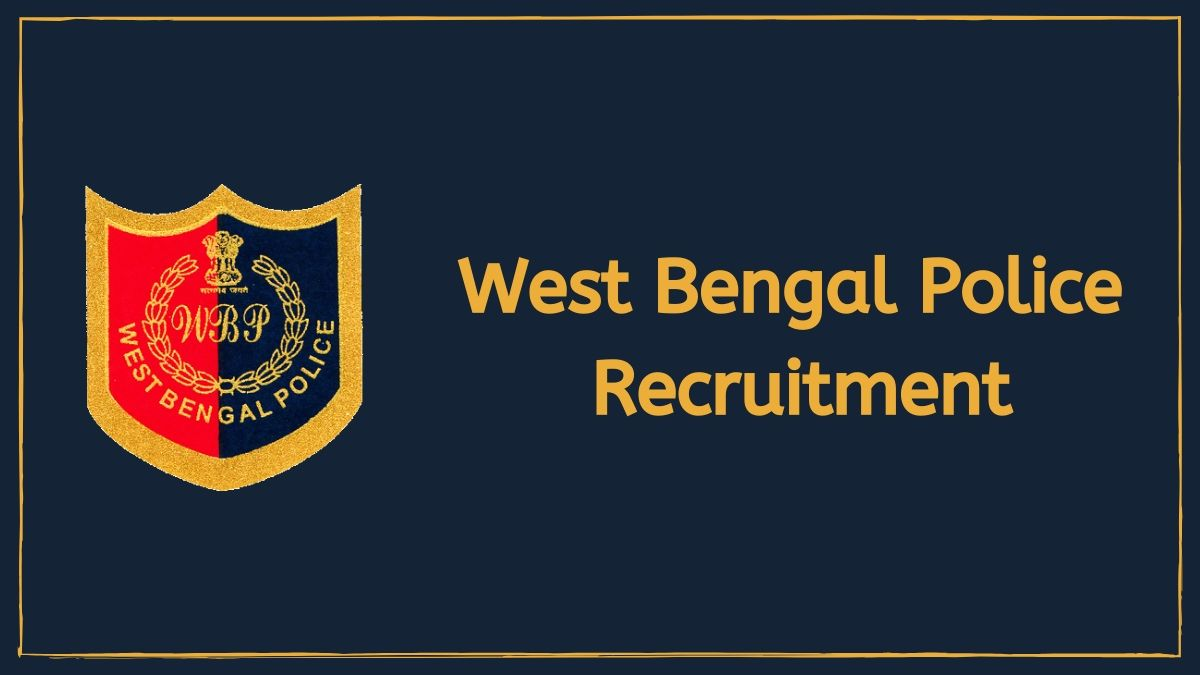 West Bengal Police Constable Online Application Form 2020